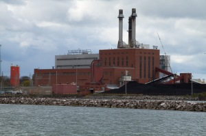 Power Plant - Dunkirk New York on Lake Erie