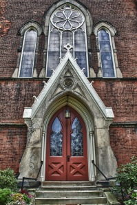First Presbyterian Doorway - Westfield N.Y.