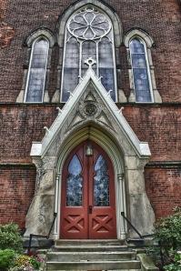 First Presbyterian Doorway - Westfield N.Y.