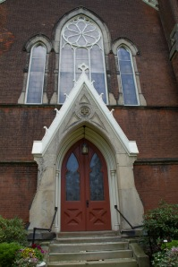 First Presbyterian Church - Doorway - Westfield N.Y.