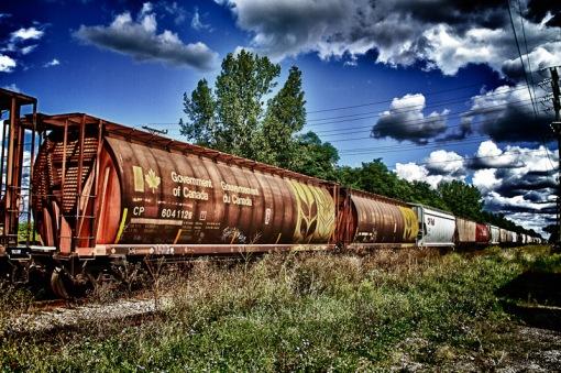 Canada Government rail car