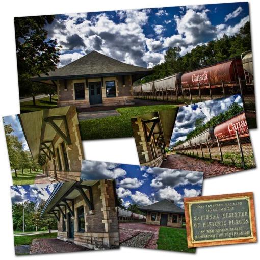 Train depot composite