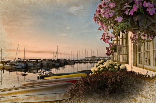 Chautauqua Institution - Photoshop effect
