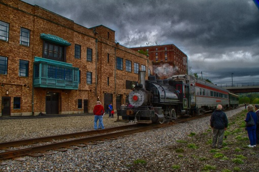 Photo of Train during National Train Day in Jamestown New York