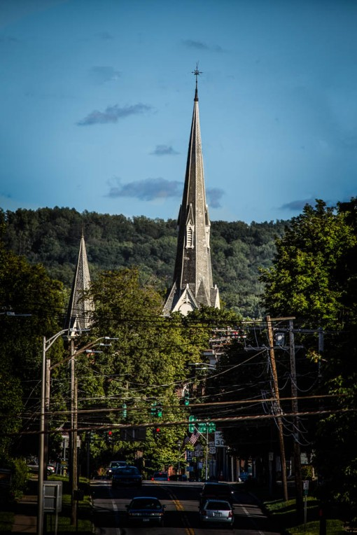 Presbyterian Church Steeple, Westfield, N.Y.