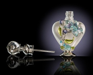 Perfume bottle product shot