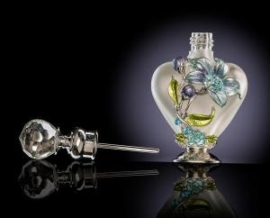 Perfume bottle product shot